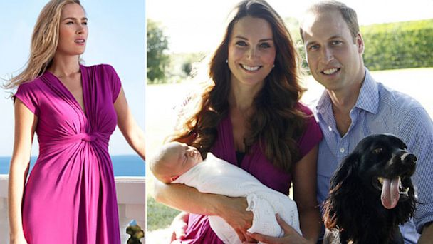 HT kate middleton dress lpl 130820 16x9 608 Kate Middletons Dress Sells Out After Royal Baby Photo Release