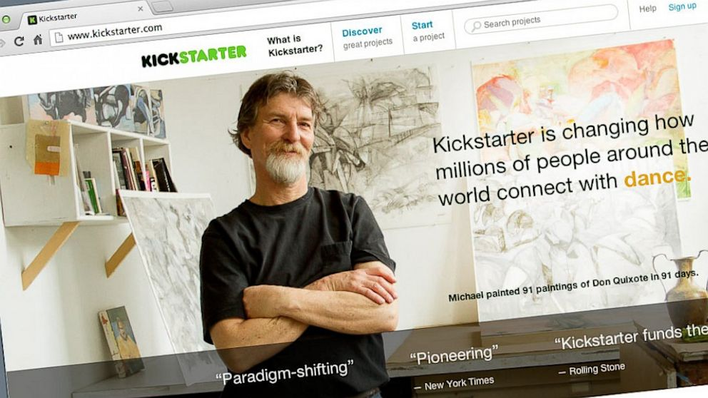 PHOTO: Since 2009, Kickstarter has funded 48,000 creative pro