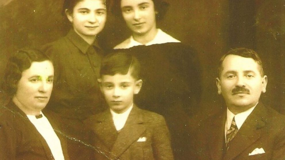 PHOTO: The Kleins are shown in 1935, from left: Bertha, Oli, Gabi, Lily and Herman.