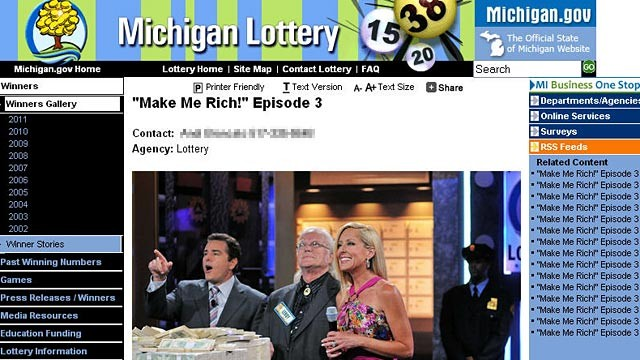 PHOTO: Leroy Fick was the lucky winner of a $2 million prize