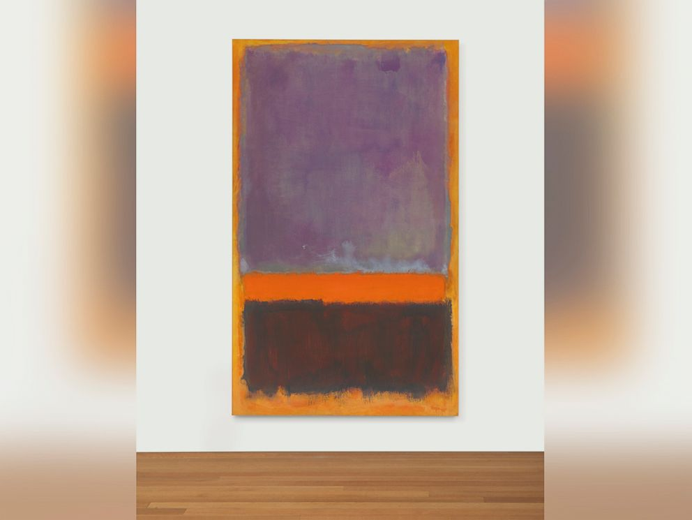 PHOTO: Untitled by Mark Rothko sold for $66,245,000.