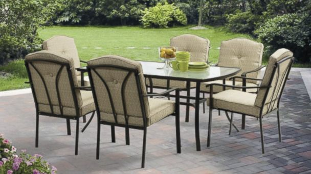 PHOTO: Walmart Is Offering This 7 Piece Mainstays Patio Furniture Set On  Sale As