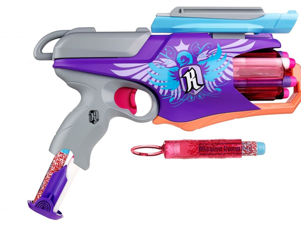 PHOTO: The Nerf Rebelle Spylight Blaster.