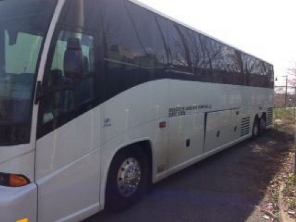 PHOTO: The MCI J4500 team bus, included as part of the Newark Bears liquidation sale.