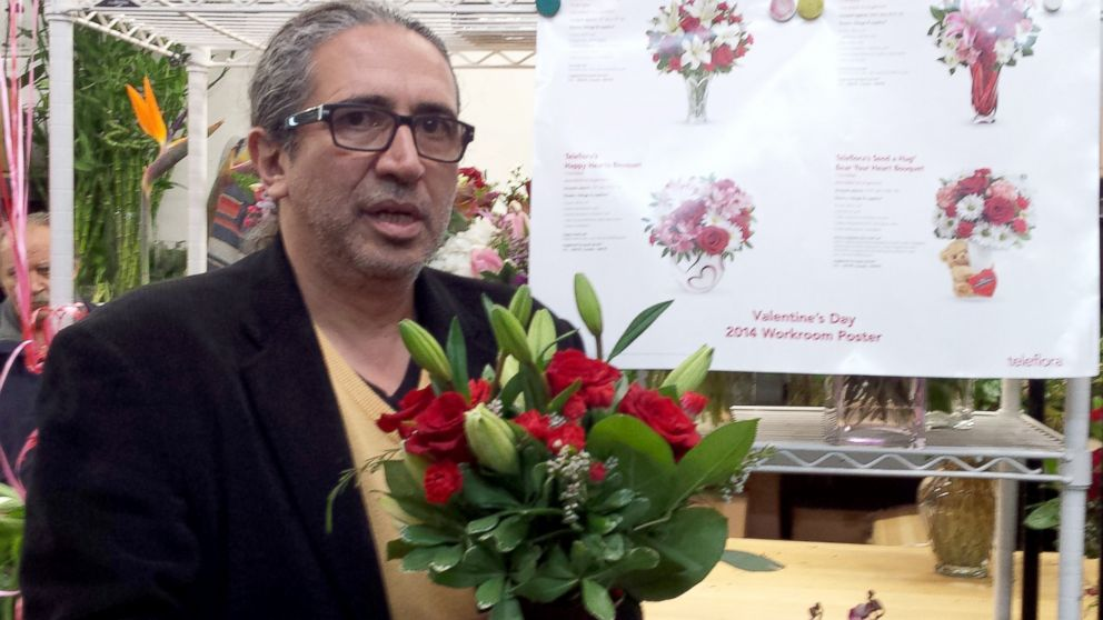 PHOTO: Nic Faitos, senior partner at Starbright Floral Design in New York Ci