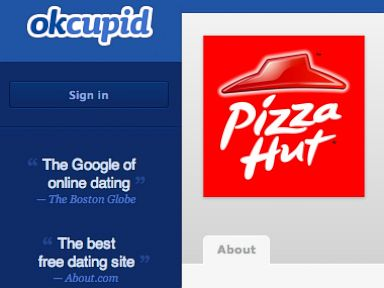 PHOTO: Pizza Hut is partnering with OKCupid to elicit marriage proposals this Valentines Day.