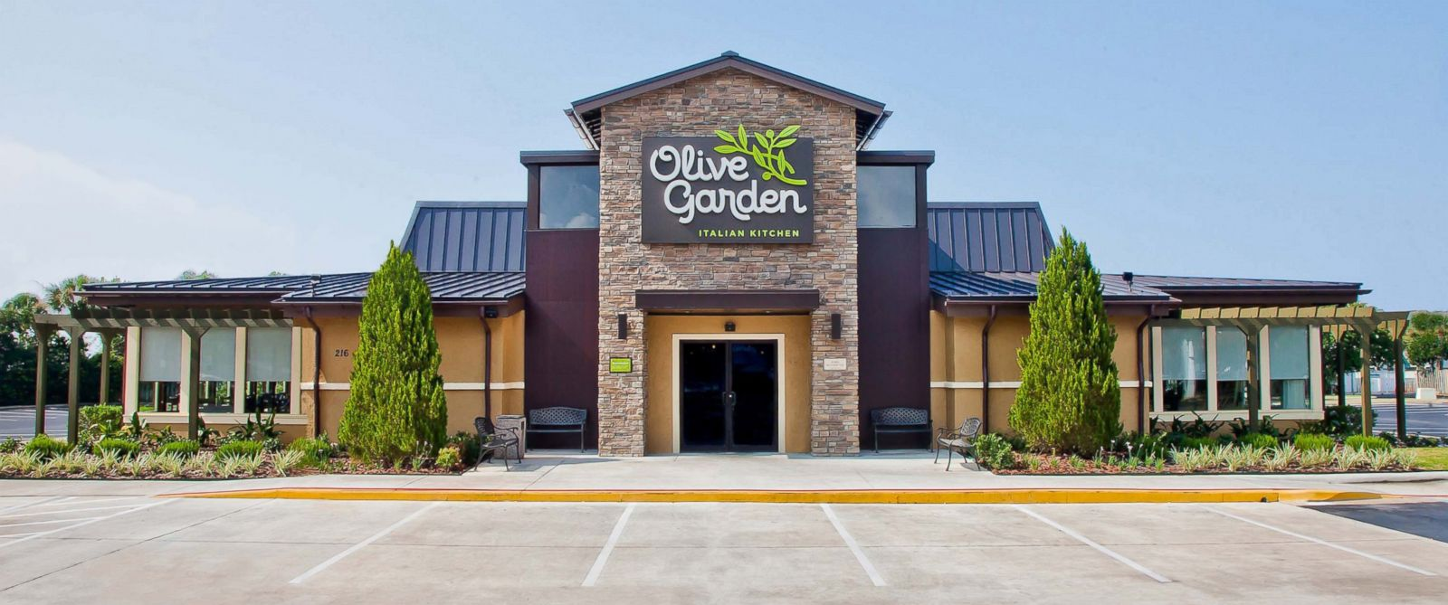 PHOTO: The Olive Garden restaurant is seen here in this undated file photo.
