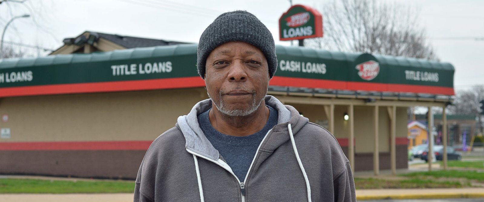 PHOTO: Elliott Clark, of Kansas City, Missouri, said he borrowed five $500 payday loans that cost him $50,000 in interest.