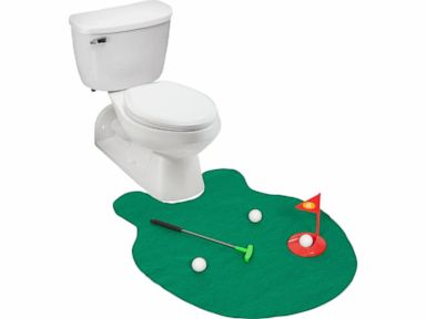 Need Early Father's Day Present Ideas? How About Toilet Golf