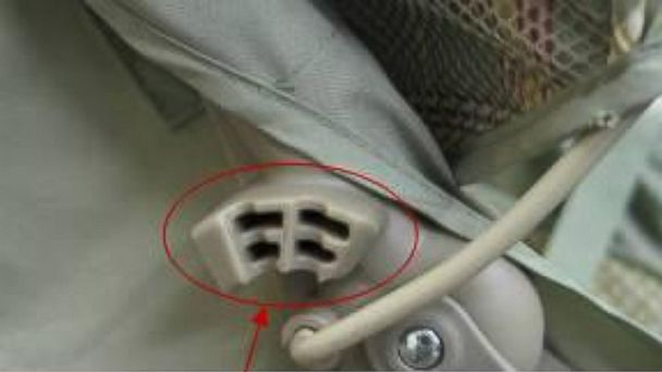 PHOTO: Several models of Graco strollers were recalled for a hinge that amputated fingers and caused other injuries.