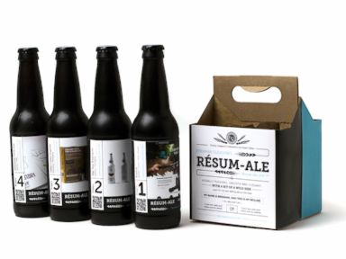 Canadian Man Puts Resume on a 4-Pack of Craft Beer
