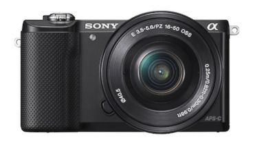 PHOTO: Sony Alpha a5000