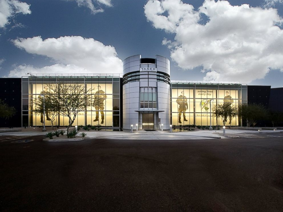 PHOTO: Taser International headquarters in pictured in this undated file photo, in Scottsdale, Ariz.