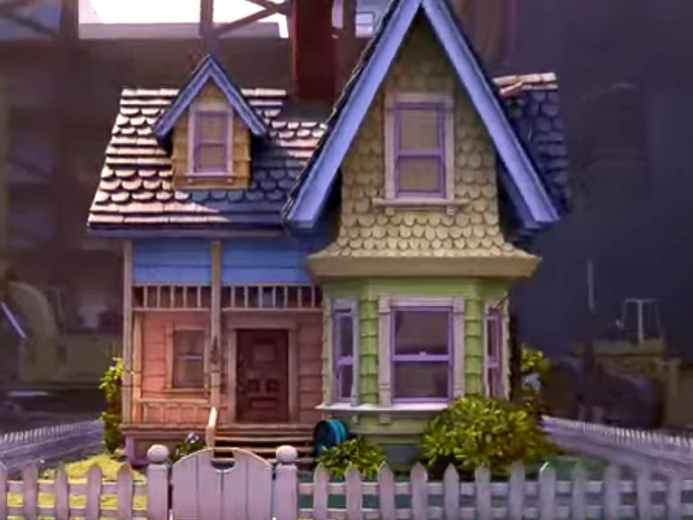 PHOTO: The house from the movie Up is seen in this image from the official trailer.