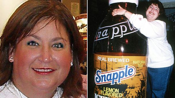 PHOTO: Wendy Kaufman, the Snapple Lady, and spokesperson for Snapple I