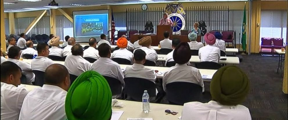 PHOTO: About 170 drivers from Yellow Cab attended a class on customer service given at the Teamsters Union Headquarters in Tukwila, Wash. on July 15, 2014.