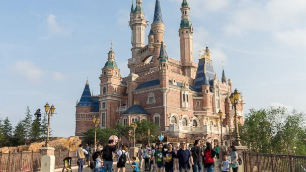 PHOTO: A view of the Enchanted Storybook Castle at the center of Shanghai Disney Resort  in Shanghai, China, June 05, 2016.