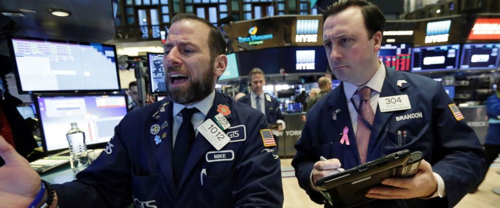 Dow plunges more than 1,100, largest single-day point drop in history - ABC News