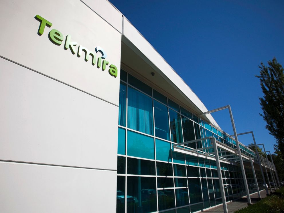 PHOTO: Tekmira Pharmaceuticals Corporations head office is pictured in Burnaby, British Columbia August 5, 2014.