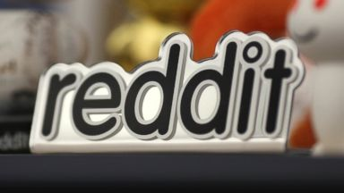 PHOTO: Reddit mascots are displayed at the companys headquarters in San Francisco, Calif. on April 15, 2014.
