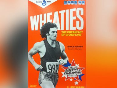 PHOTO: Bruce Jenner is seen on the front cover of a Wheaties cereal box in a photo from Oct. 20, 2012.