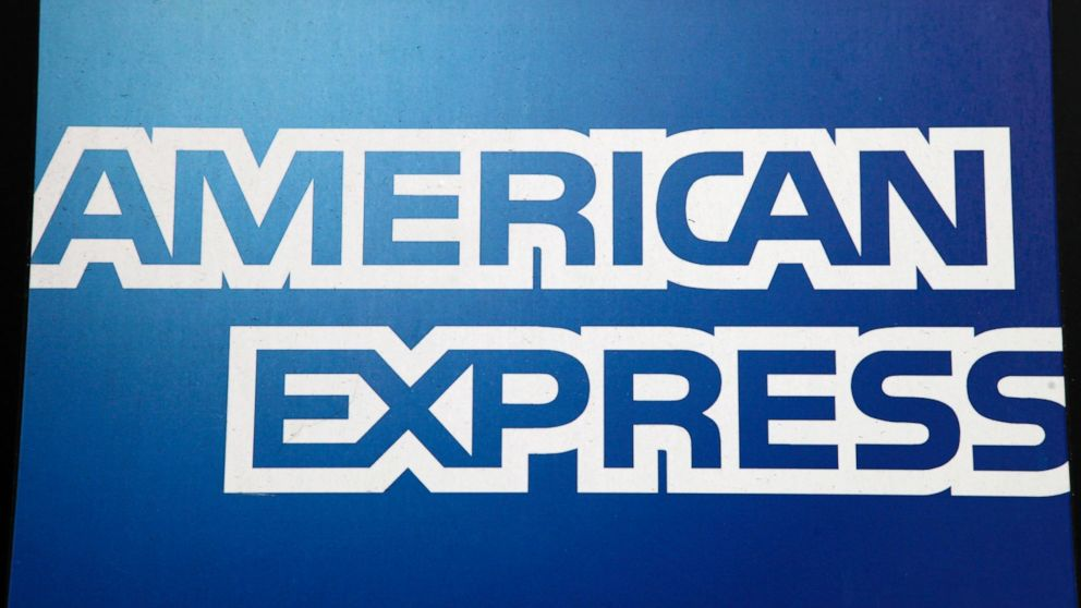 American Express shares higher on company's EPS, sales beat