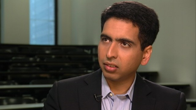 PHOTO: Founder Sal Khan launched Khan Academy sort-of by accident, the former hedge fund analyst, seen here, created online lessons for relatives, but then his videos went viral.