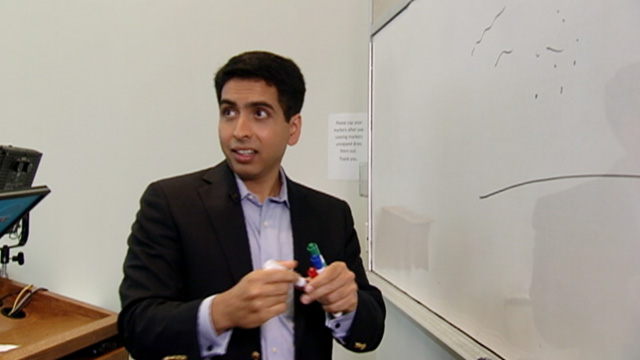 PHOTO: Founder Sal Khan, seen here, launched Khan Academy sort of by acc
