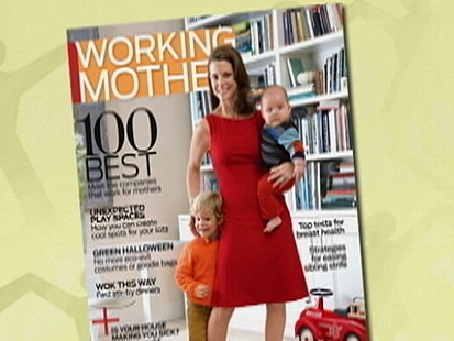 VIDEO: Working Mother Magazine Ranks Companies