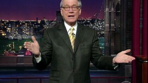 VIDEO: David Letterman delivers stinging jokes, along with Jay Leno and Cona