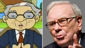 Warren Buffett Gets Animated with Kids