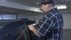 PHOTO: Former car thief Steve Fuller shows ABC News 20/20 how easily and quickly he can steal a car.
