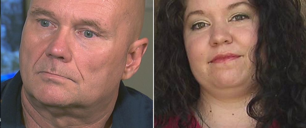 PHOTO: A debt collector, left, who makes calls using the name John Anderson, owes over $33,000 to Jessica Burke, right, who says Anderson harassed her over late car payments.