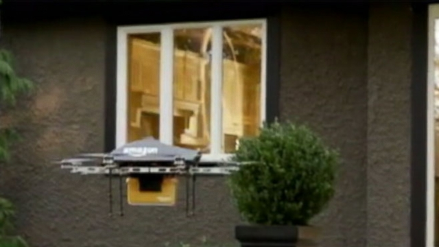Video: Amazon Mulls Drone-Home Delivery