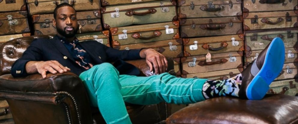 PHOTO: NBA star Dwyane Wade is putting his name on the sock industry with his third sock collection with Stance.