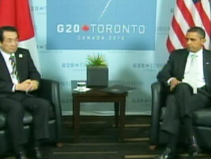 VIDEO: G-20 Meeting in Toronto