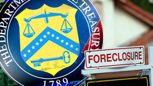 PHOTO Many Americans are hurting due to foreclosures.