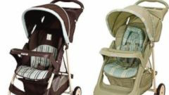 PHOTO: Glaco has recalled nearly five million strollers, including types of the Literider Model Stroller (left) and types of the Glider Model Stroller (right).