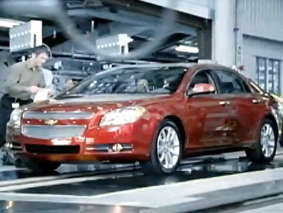 General motors commercial complaint about bailout ad General motors complaints
