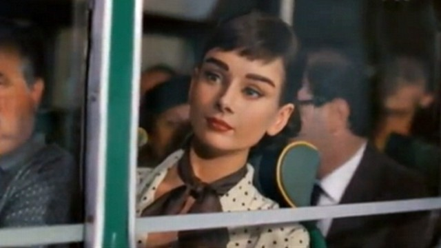 VIDEO: Scenes from Roman Holiday are used in a commercial for UK chocolate maker Galaxy.