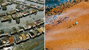 Katrina vs Gulf Coast oil spill