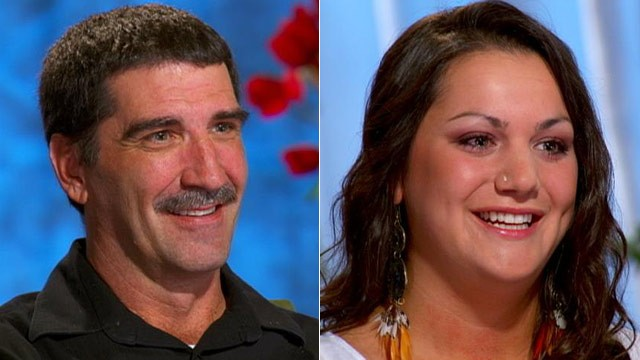PHOTO: Joe Denette and Alexandra Char are two lottery winners with very different paths to happiness.