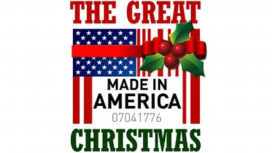PHOTO: The Great Made in America Christmas logo.