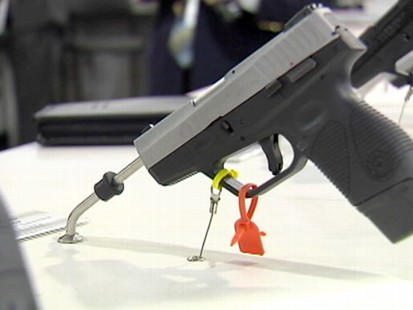 VIDEO: Gun enthusiasts say blame the shooter, not guns for tragedy.