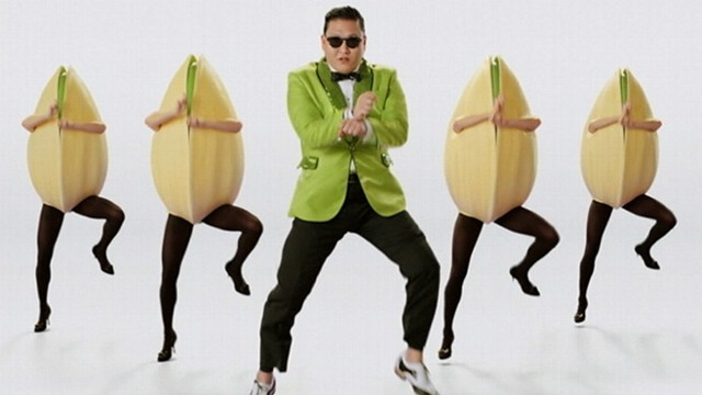 VIDEO: South Korean pop star Psy pitches nuts for California's Paramount Farms.