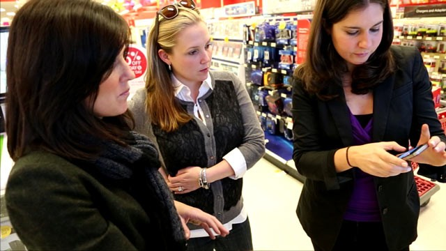 "PHOTO: ABC News' ""Real Money"" series brought its tech editor Joanna Stern to the Perillos in Simsbury, Conn., to show them how to outsmart stores and use technology to get great deals."
