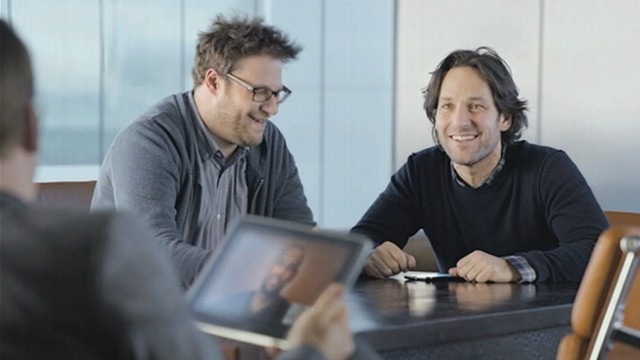 VIDEO: &quot;The Big Pitch&quot; commercial also features Paul Rudd, Seth Rogen and Bob Odenkirk.