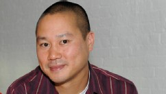 PHOTO: Barbara Walters interviews Tony Hsieh for her special on Billionaires, airing on the ABC Television Network.