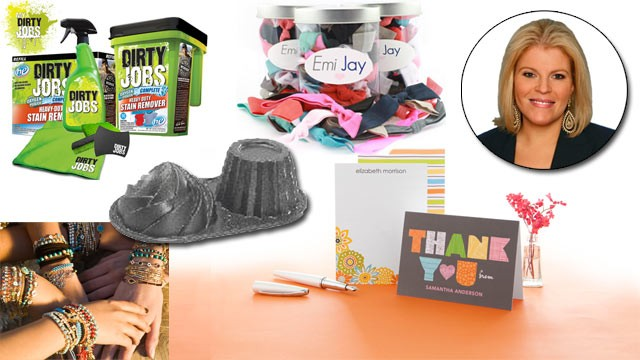 PHOTO: This week's deals from Tory Johnson feature big discounts on jewelry, personalized stationery and bakeware, among other items.