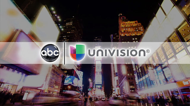 PHOTO: ABC and Univision graphic